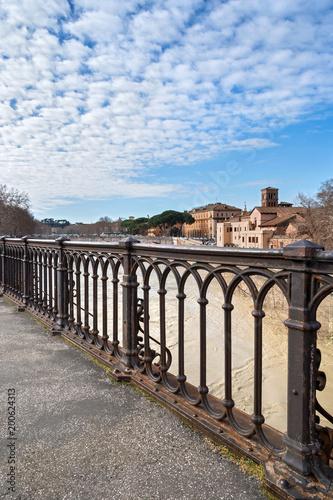Fotobehang Rome ponte palatino
