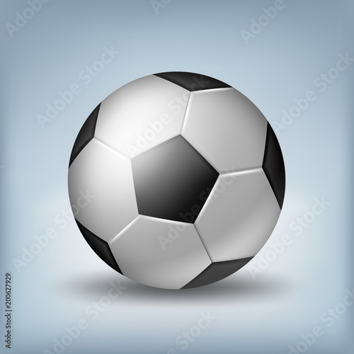 Fotobehang Bol soccer ball illustration