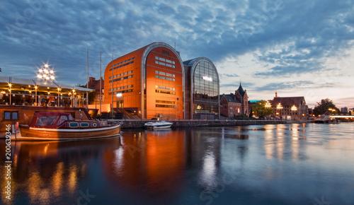 Zdjęcia na płótnie, fototapety na wymiar, obrazy na ścianę : View of the city architecture. Bydgoszcz, Poland.