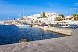 Port in Naxos, Greece - 200641937