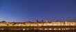 Firenze skyline di lungarno alle grazie visto da lungarno serristori al tramonto - 200651327