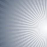 Asymmetrical abstract gradient sunburst pattern background - vector design