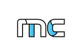 black blue alphabet letter mc  m c logo company icon design - 200661932