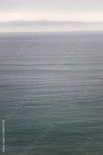 Spokojny horyzont oceanu