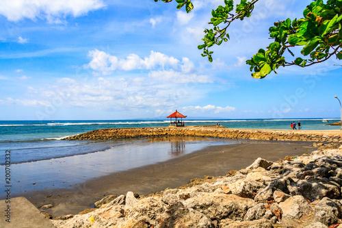 Keuken foto achterwand Bali Sanur beach, Bali, Indonesia
