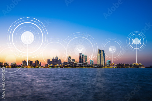smart city icon - 200724122