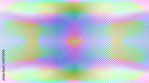 Holographic Background Hologram Mosaic Chameleon Color Abstract Trendy Fashion Wallpaper Rainbow