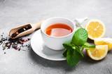 Tea with lemon and mint - 200764390