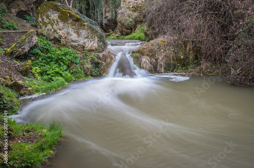 Foto op Aluminium Khaki A tour of the province of Burgos, Spain, with its waterfalls, castles, mountains ...