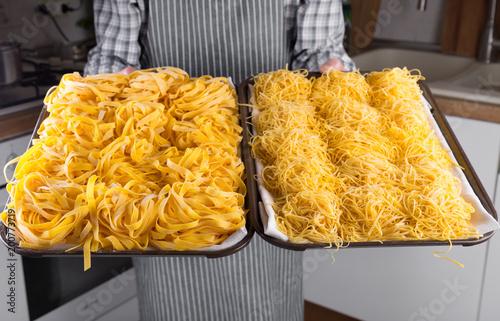 Foto Murales Homemade italian pasta