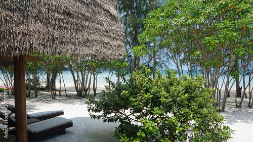 Foto Murales beach huts on koh rong samloem
