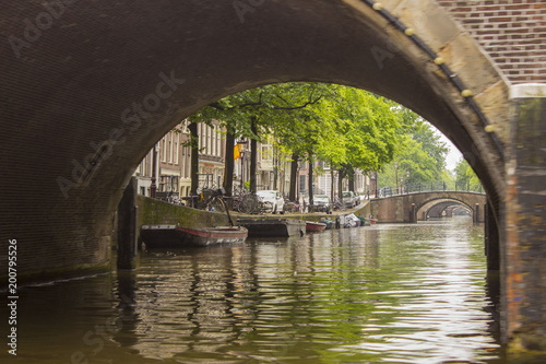 Canals in The Netherlands