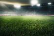 Leinwanddruck Bild - Fußballstadion