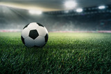 Fußball in einem Stadion © m.mphoto