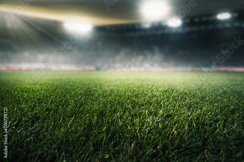 Leinwanddruck Bild Fußballstadion