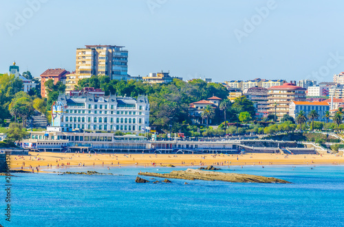 Foto Murales Cityscape of Santander, Spain