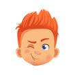 redhead boy character