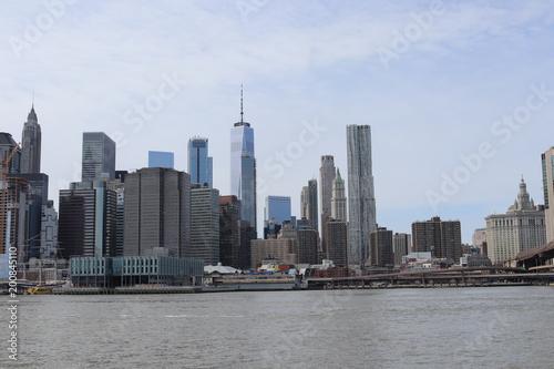Foto op Plexiglas New York New York City architecture