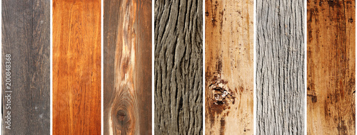 Set of wooden banners - 200848368