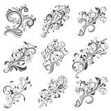 Floral decorative elements. Collecton - 200856552
