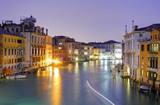 Fototapeta Venice from ponte Accademia at night