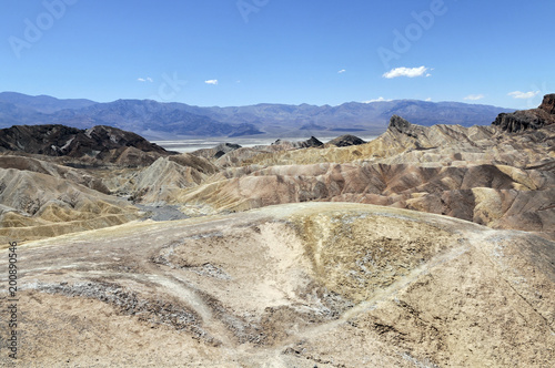 Zabriskie Point, Death Valley Nationalpark, Kalifornien, USA, Nordamerika Poster