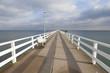 Leinwanddruck Bild - Seebrücke, Timmendorfer Strand,  Ostseeküste,  Lübecker Bucht, Schleswig-Holstein, Deutschland