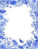 Vertical watercolor roses greeting card - 200896358
