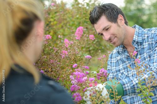 Foto Murales on the garden