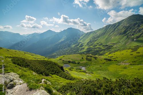 Tatry - szlak na Starobociański Wierch