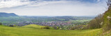 panoramic view to Owen from the Castle Teck Germany