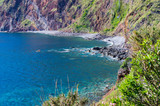 Little bay on Madeira island, Portugal