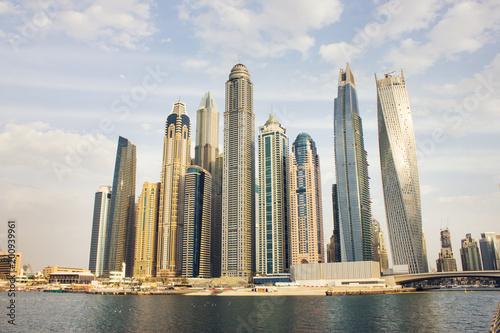 Fotobehang Dubai View of Dubai Marina,
