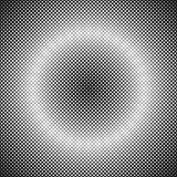 Retro abstract halftone square pattern background - vector graphic design with diagonal squares