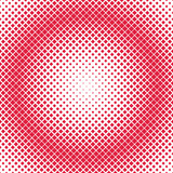 Geometric halftone square pattern background - vector illustration from diagonal squares