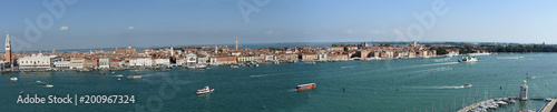In de dag Venetie Panoramic View of Venice from Giudecca