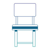 Simple chair isolated vector illustration graphic design - 200975583