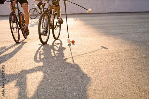 bicycle polo game