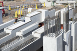 ビル・マンションの鉄筋 構造イメージ