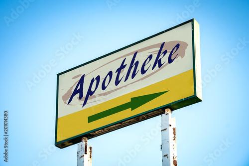 Plexiglas Apotheek Schild 301 - Apotheke