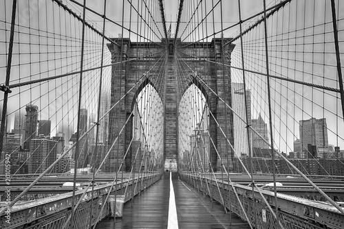 Brooklyn bridge of New York City - 201015942