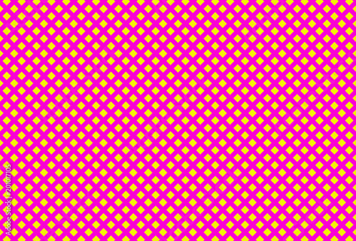 Żółci rhombuses na różowym tle
