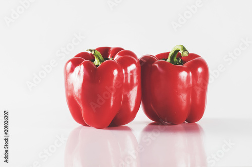Red pepper on isolated background - 201026307