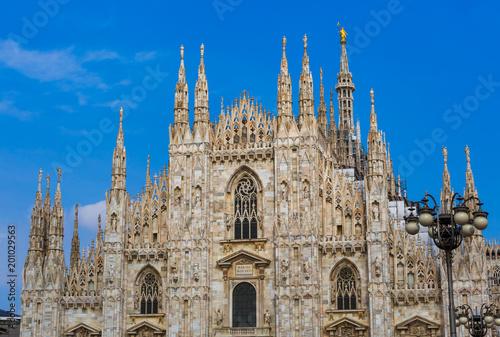Fotobehang Milan Milan Cathedral (Duomo di Milano) in Italy
