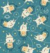 bearstronauts pattern - 201047720