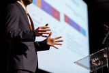 Speaker at business conference or presentation - 201054706