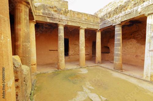 Canvas Cyprus Ancient ruins. Cyprus