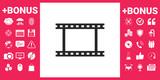 Camera Roll, photographic film, camera film symbol icon - 201057533
