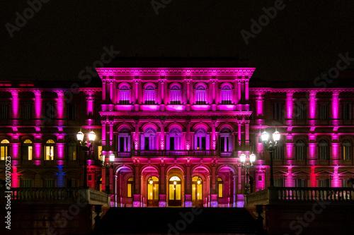 Fotobehang Buenos Aires Pink House - Casa Rosada