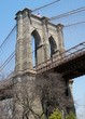 American Bridge - Brooklyn Bridge,  - Brooklyn Side in Spring